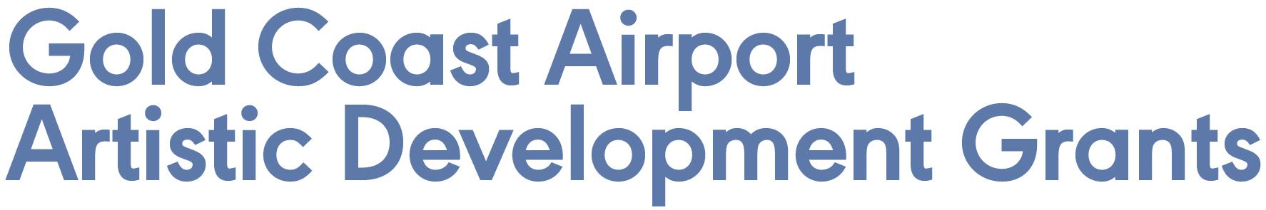 Gold Coast Airport Artistic Development Grants