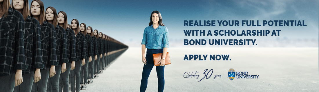 Realise your full potential with a scholarship at Bond University - Apply Now