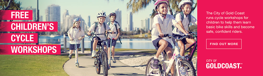 Free Children's Cycle Workshop | City of Gold Coast
